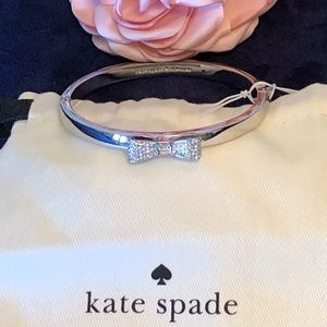 KATE SPADE ready set bow bracelet - Silver